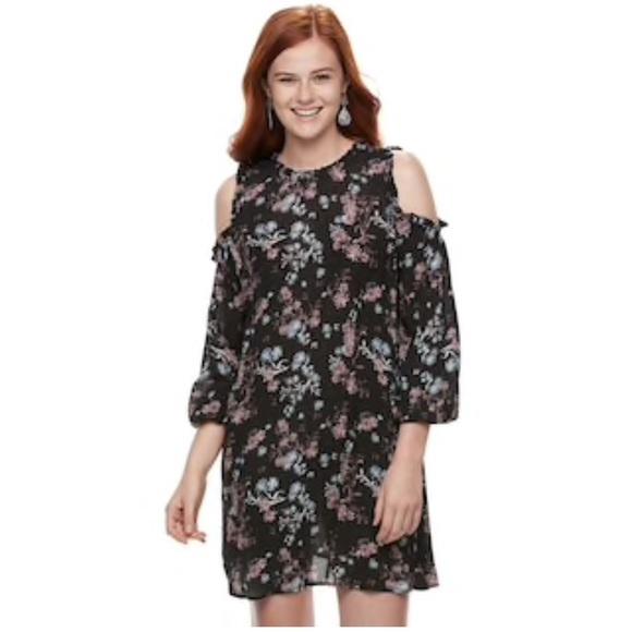 399e773039 Kohl s Rewind Cold Shoulder Dress